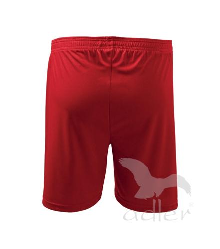 krótkie spodenki pod nadruki adler koszulkolandia czerwone