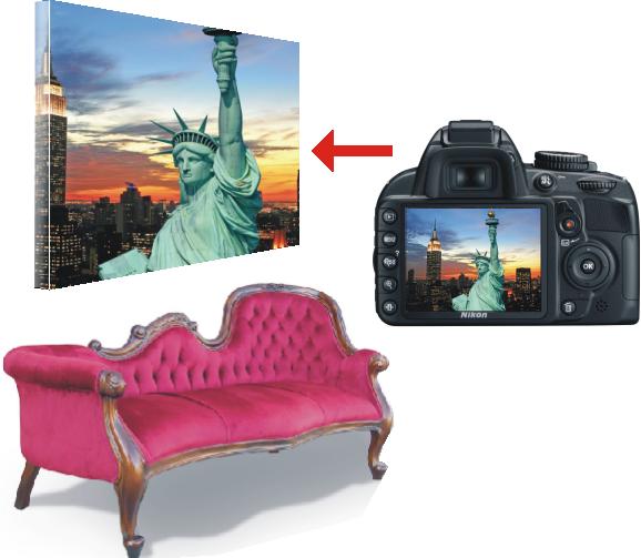 fotoobrazy fotoobraz - blejtramy koszulkolandia z własnym zdjęciem fotografią