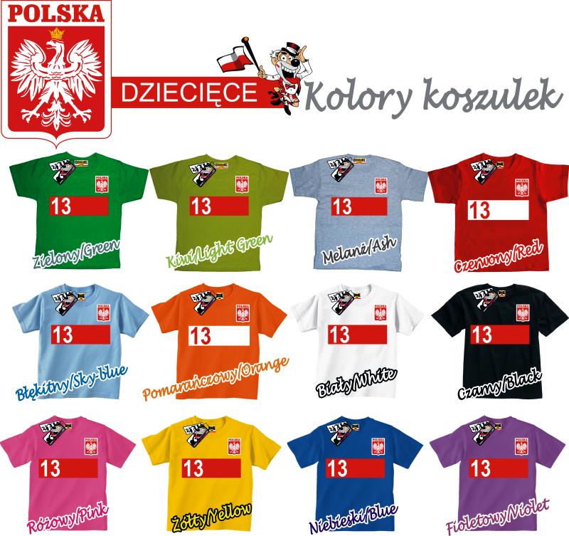 koszulki reprezentacji polski z nadrukiem własnym